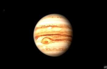 C4D高清写实木星模型Jupiter