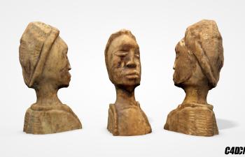 C4D人物雕塑模型 Figurine found in Central Florida