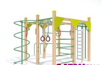 3D模型11儿童体育锻炼设施