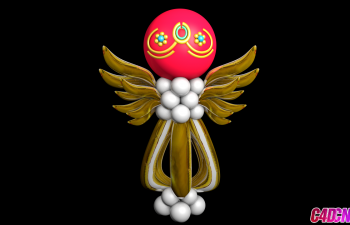 C4D模型 球形指挥官