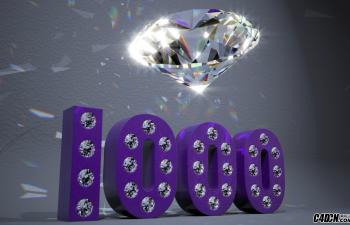 CINEMA 4D教程——红移渲染钻石焦散光子