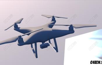 航拍飞机模型