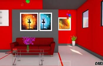 CINEMA 4D建模教程-室内设计| CINEMA 4D教程
