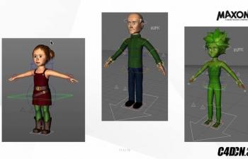 C4D动物昆虫绑定教程 Character Animation in Cinema 4D with Jonas Pilz