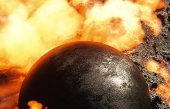 Octane渲染器熔岩星球岩浆C4D模型