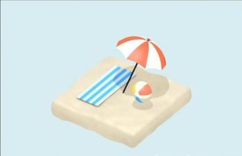 C4D 低面体小动画教程