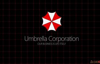 生化危机保护伞公司logo模型