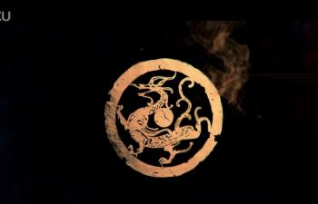 [教程]C4D+AE制作龙纹烟火生长动画