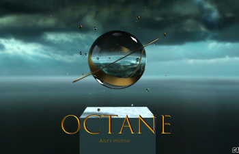 C4D模型 OCTANE渲染场景练习