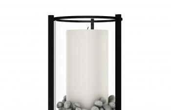 C4D模型 钟乳石蜡烛台模型