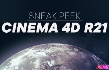 C4D R21新功能入门版本先睹为快 Cinema 4D R21 - Sneak Peek