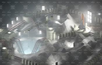 Redshift渲染器月球基地建模渲染教程 Moon Base