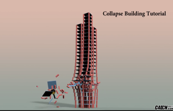 CINEMA 4D教程——折叠大厦- 物理与克隆