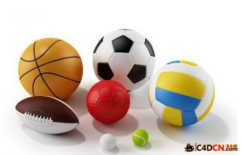 体育运动球类模型合集