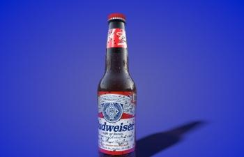 C4D百威啤酒材质表现