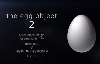 C4D插件-下蛋插件汉化版 为你生颗完美的蛋-EggObject2