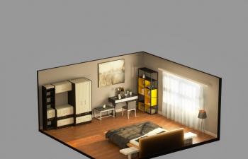 房间小场景