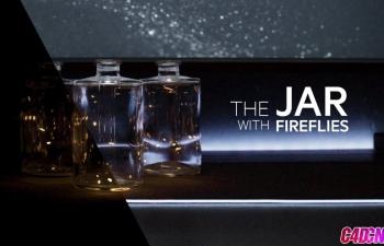 Octane渲染器制作裝滿飛舞螢火蟲的玻璃瓶子動畫C4D教程