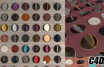C4D材质球预设 265种阿诺德渲染器材质合集包 Gumroad – Arnold Shader Suite C4D v1.0
