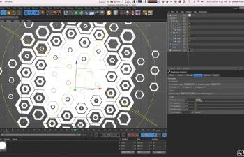 C4D教程 运动图形模块工具制作栏目包装风格翻折页教程