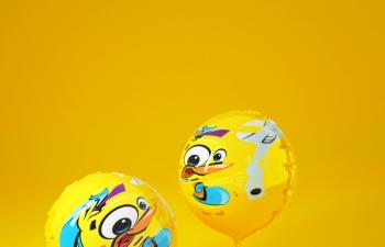 C4D 臨摹作品【氣球】