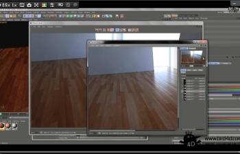 (S)Floor Generator Texturing 2 ( Photoshop-C4D-BodyPaint )