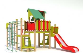 3D模型10儿童玩具滑梯