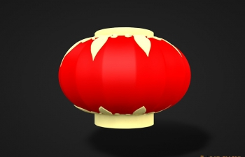 红灯笼模型