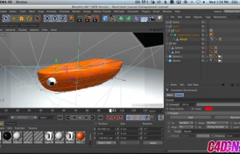 如何在Cinema 4D中的两个对象之间进行变形C4D教程 How To Morph Between Two Objects in Cinema 4D