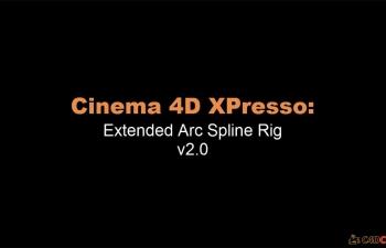 连线工具ArcSplineRig v2.0脚本预设汉化版