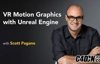 VR游戏开发基础教程 Lynda – VR Motion Graphics with Unreal Engine