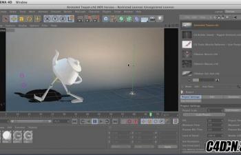 Lynda - C4D+AE角色动画设计教程