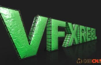 体积线框生成器脚本预设汉化版Volumetric Wireframe GENERATOR