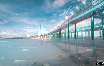扒一扒N3的延时风格片, 数字城市-深圳湾大桥