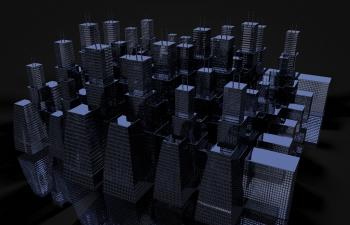 运用随机建造的建筑