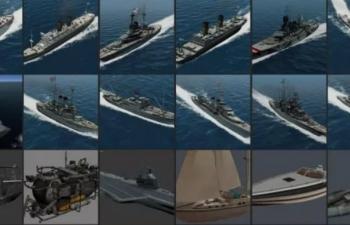 142 种船舶模型+贴图 Ships