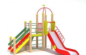 3D模型12儿童滑梯