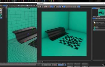 C4D教程-滑动毯动画