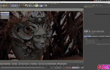 C4D教程 R20运动追踪实例教程 Cinema 4D R20 Tutorial - Motion Tracke