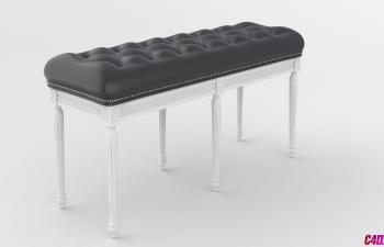 C4D教程 沙发长椅家居建模渲染教程