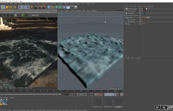CINEMA 4D教程——现实与泡沫海洋(Octane呈现)