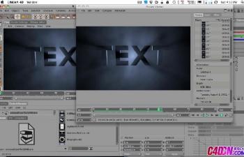GSG044如何在Cinema 4D中使用体积照明C4D教程