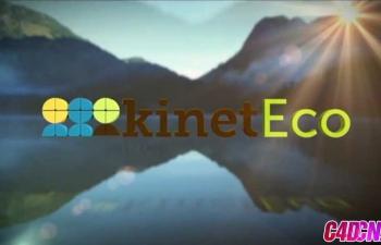 琳达LOGO片头动画与合成C4D+AE教程(含工程)