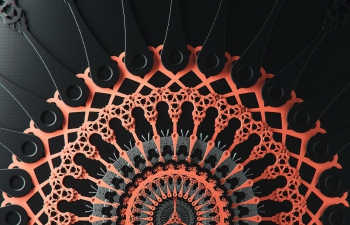 Octane渲染器发条齿轮
