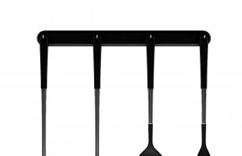 C4D模型 勺子漏勺铲子组合厨具模型