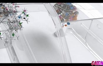 GSG129(西蒙)如何一起使用思维粒子和运动图形C4D教程
