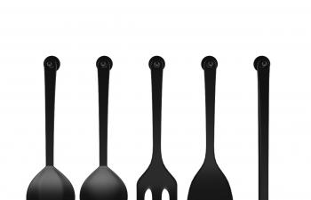 C4D模型 锅铲组合厨具模型