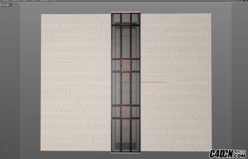 C4D插件 门窗插件汉化版 WinGen