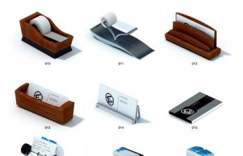 VOL.20(max)办公用品合集:便签 胶带 订书机 座机等