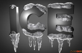 C4D预设 冰块文字生成器ICE MACHINE 1.02 plugin for c4d